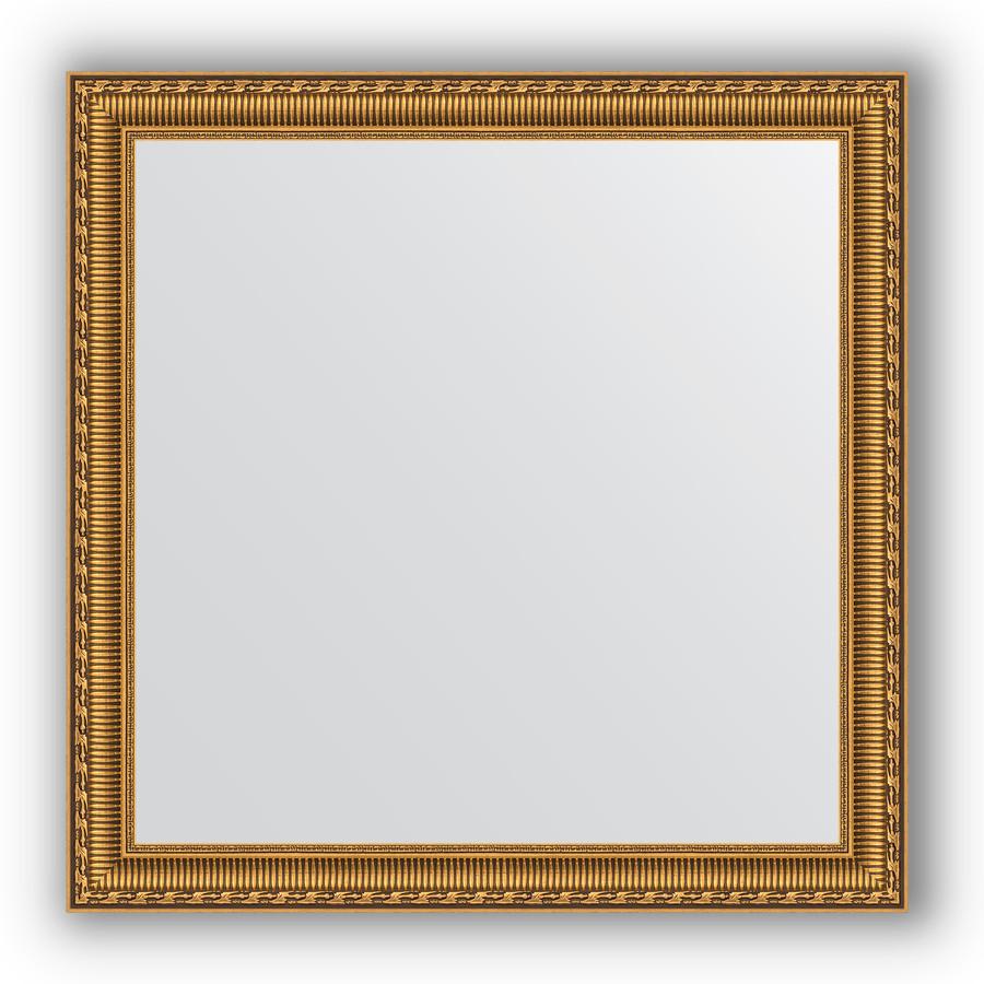 Фото - Зеркало 74х74 см золотой акведук Evoform Definite BY 1028 зеркало evoform definite 74х74 беленый дуб