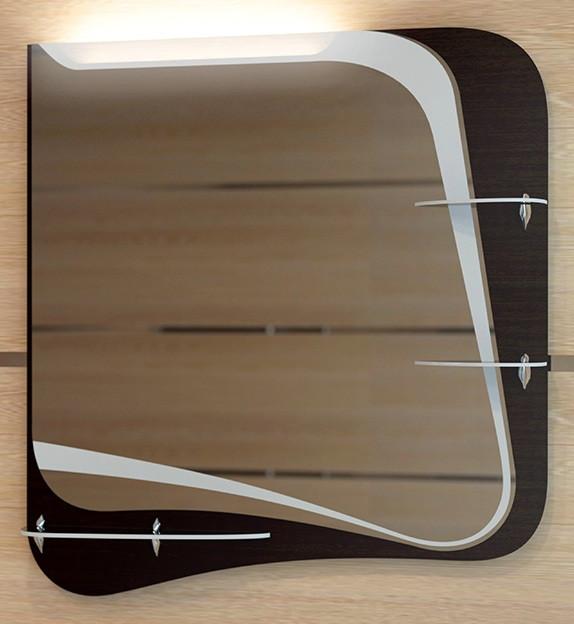 Зеркало 65х70,9 см венге Velvex Iva zkIVA.65-22