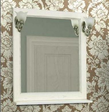 Зеркало Жерона 85 белое серебро Акватон 1A158702GEM20 цены