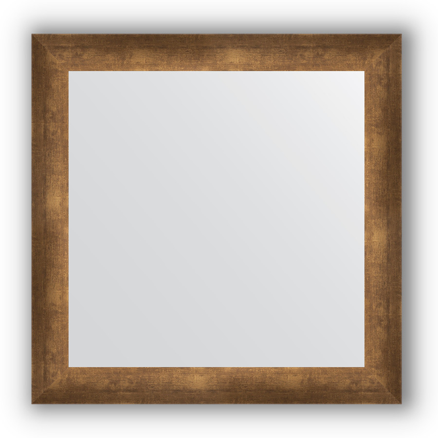 Зеркало 66х66 см состаренная бронза Evoform Definite BY 0785 зеркало 66х66 см орех evoform definite by 0784