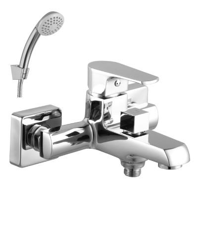Смеситель для ванны с коротким изливом Lemark Plus Factor LM1612C фото