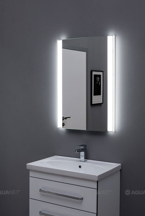 Зеркало с подсветкой 70х85 см Aquanet Форли 00196658 зеркало 70х85 см smile арабеска z0000009897