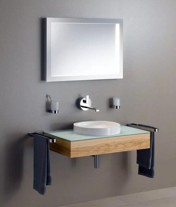 Зеркало с люминесцентной подсветкой 95х65 см KEUCO Edition 300 30096013000