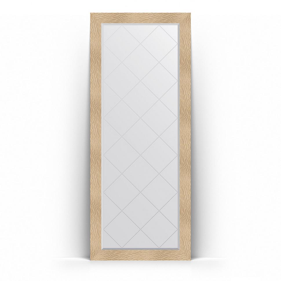 Зеркало напольное 81х201 см золотые дюны Evoform Exclusive-G Floor BY 6381 зеркало evoform definite floor 201х111 золотые дюны