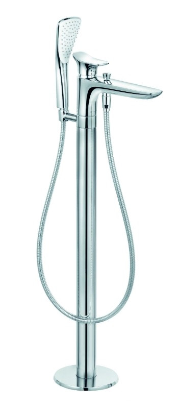 Смеситель напольный для ванны Kludi Ambienta 535900575