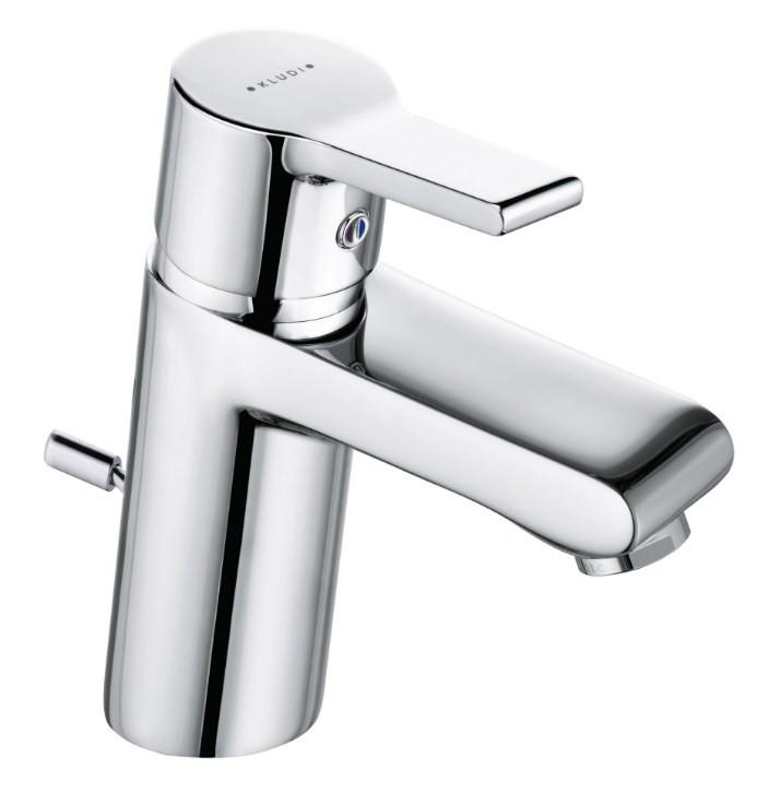 Смеситель для раковины с донным клапаном Kludi O-Cean 383500575 смеситель kludi o cean 38350 0575 для раковины