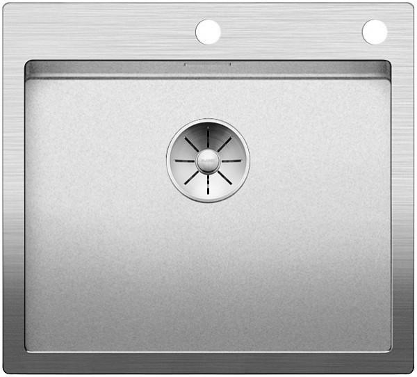 Кухонная мойка Blanco Claron 500-IF/A InFino нержавеющая сталь 523393