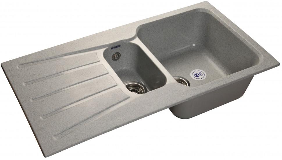 Кухонная мойка серый GranFest Standart GF-S940KL