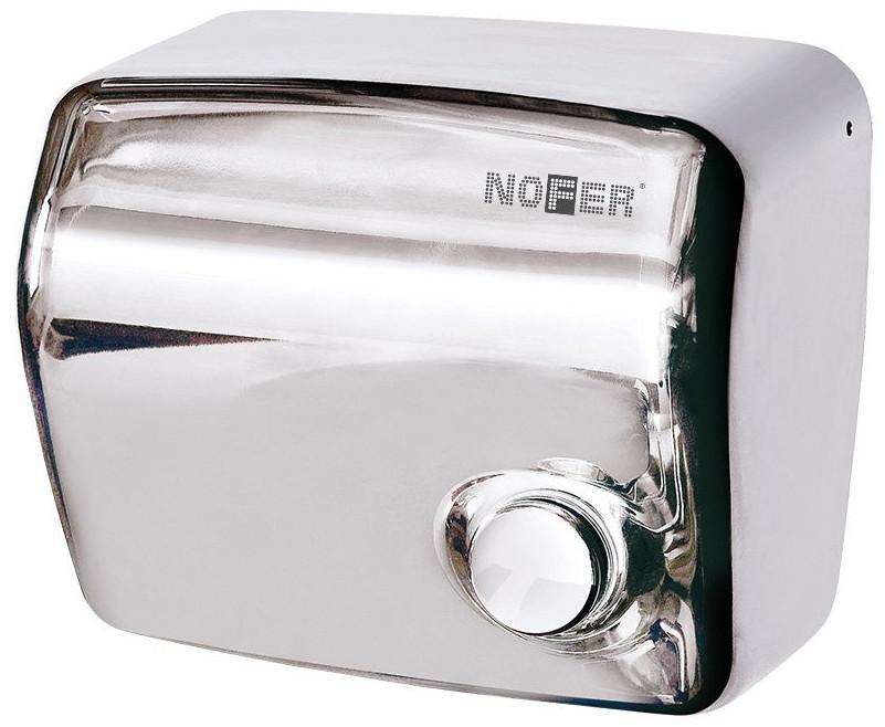 Сушилка для рук хром Nofer Kai 01250.B автоматическая сушилка для рук nofer kai 1500 w глянцевая 01251 b