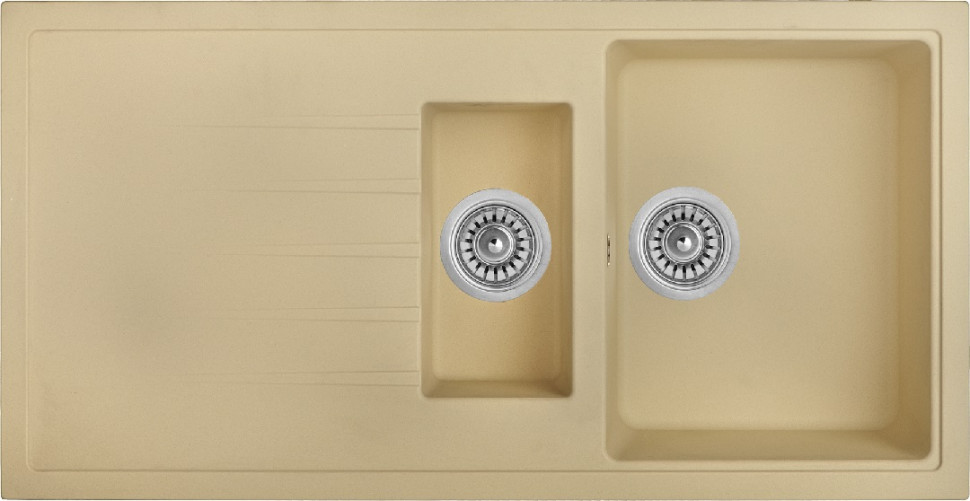 Кухонная мойка колорадо Longran Classic CLS1000.500 15 - 08 цена