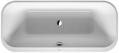 Акриловая ванна 180х80 см Duravit Happy D.2 700319000000000 акриловая ванна 180х80 см duravit p3 comforts 700377000000000