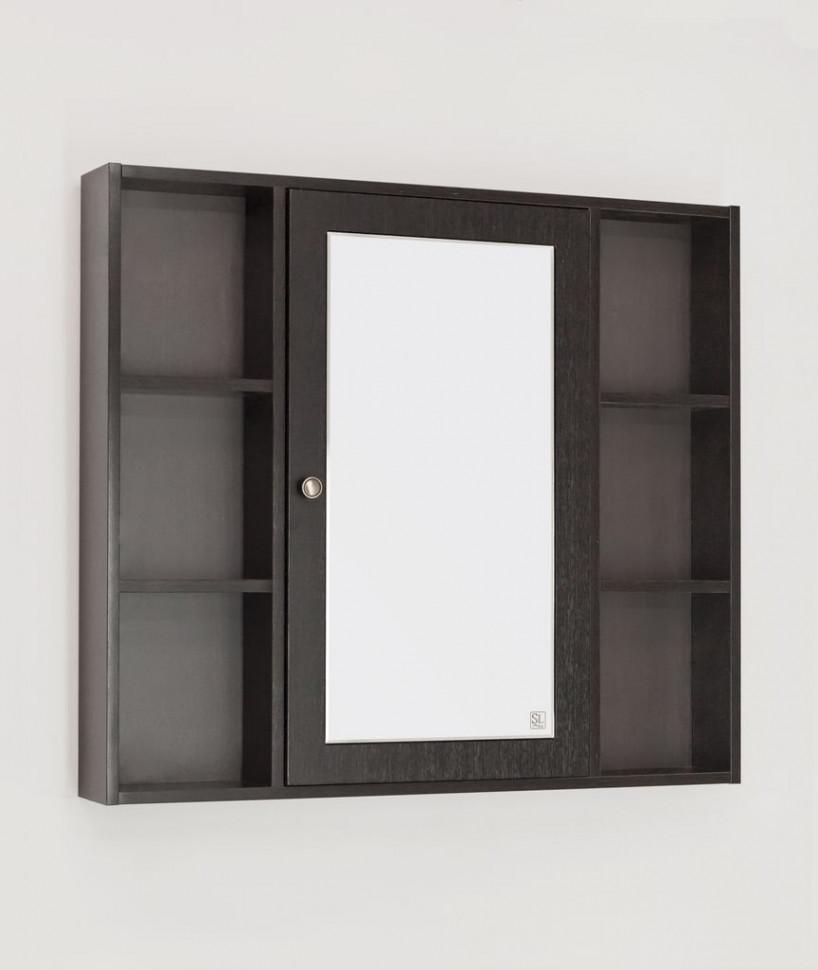 Зеркальный шкаф 90х80 см венге R Style Line Кантри LC-00000462 зеркальный шкаф style line кантри 75 2000949009926