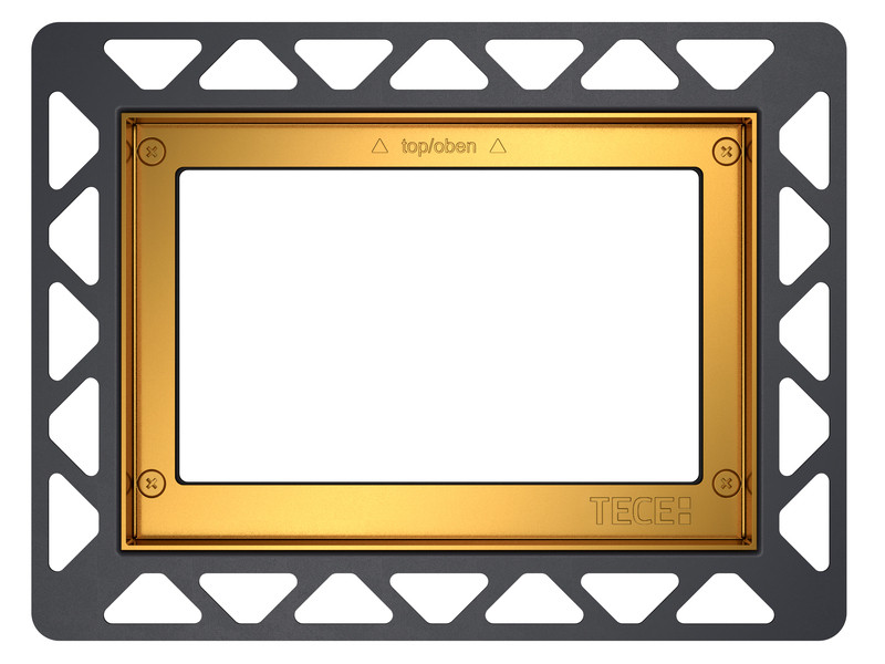 Монтажная рамка золотой Tece 9240648 монтажная рамка tece square 9240648