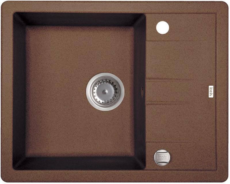 Кухонная мойка шоколад IDDIS Vane G V32C621I87