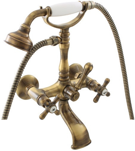 Смеситель для ванны Rav Slezak Morava Retro MK160.5/2SM смеситель для ванны rav slezak dunai d470 5p