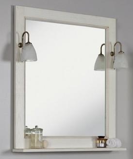 Зеркало Жерона 85 белое золото Акватон 1A158702GEM40 цены