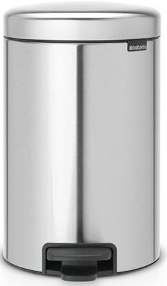 Мусорное ведро 12л защитой от отпечатков пальцев Brabantia NewIcon 112041