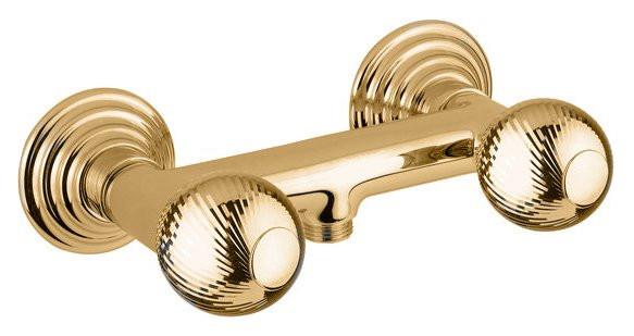 Смеситель для душа золото 24 карата, ручки металл Cezares Olimp OLIMP-DS-03/24-M смеситель для душа cezares olimp olimp ds 01 m