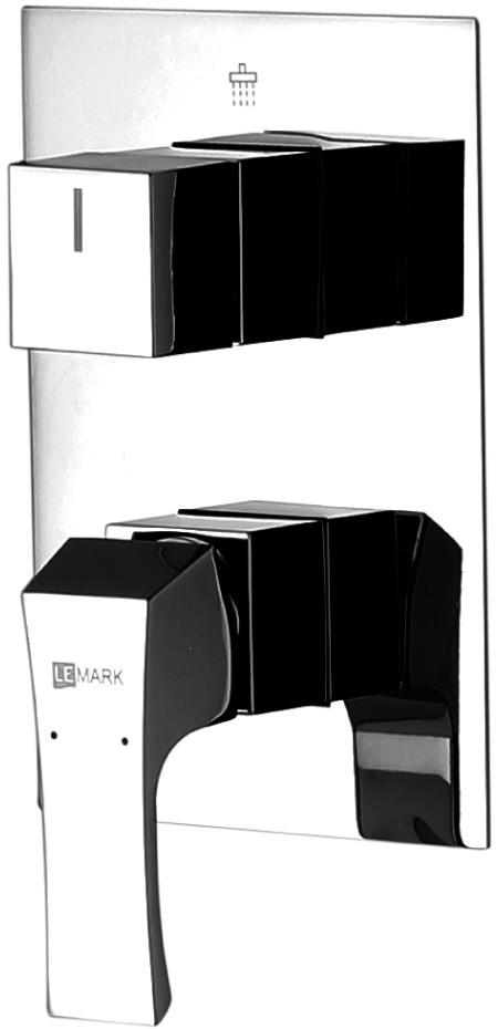 Смеситель для ванны Lemark Unit LM4528C