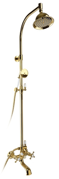 Душевая система Timo Nelson SX-1090 gold