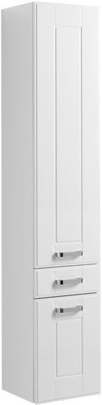 Пенал подвесной правый белый Aquanet Рондо 00189159 цена