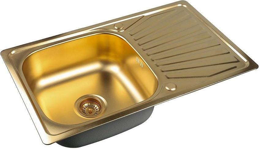 Кухонная мойка Zorg Inox PVD SZR 7848 BRONZE мойка кухонная zorg inox pvd szr 4551 bronze