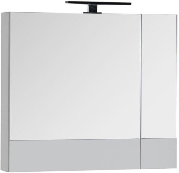 Зеркальный шкаф 70,5х67 см белый Aquanet Верона 00186371 зеркальный шкаф 65х88 1 см белый aquanet стайл 00179922