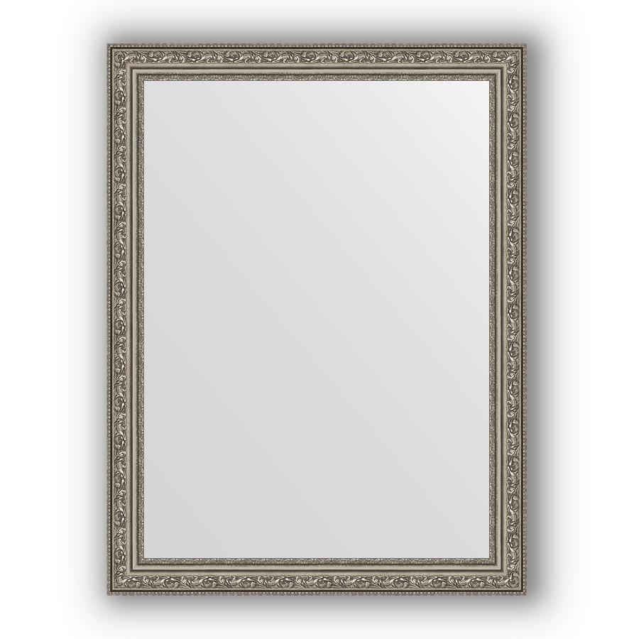 Фото - Зеркало 64х84 см виньетка состаренное серебро Evoform Definite BY 3168 зеркало 64х114 см виньетка состаренное серебро evoform definite by 3200