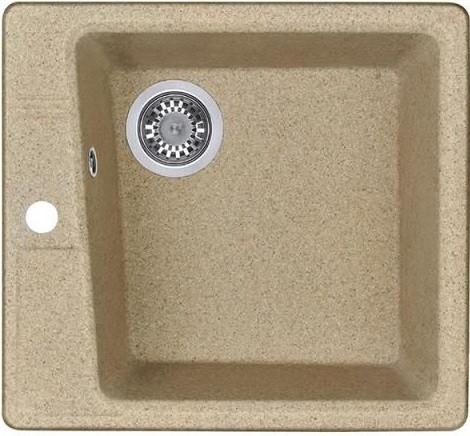Кухонная мойка песочный Акватон Парма 1A713032PM220 кухонная мойка aquaton 1a713032pm050 парма серый