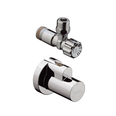 Hansgrohe 13954000 Угловой вентиль 1/2 (вентиль + накладка)