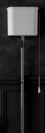 Бачок высокий для унитаза Azzurra Charme CHA400/Cbi