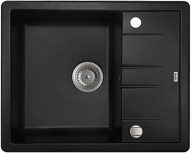 Кухонная мойка черный IDDIS Vane G V06B621I87
