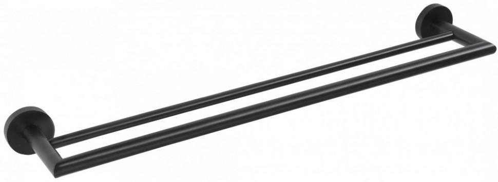Полотенцедержатель двойной 65,5 см Bemeta Dark 104204050