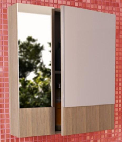 Зеркальный шкаф 60х67 см сосна лоредо Comforty Ницца 00003120774 зеркальный шкаф акватон стамбул 85 1a128402st590 сосна лоредо