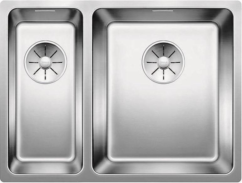 Кухонная мойка Blanco Andano 340/180-U InFino зеркальная полированная сталь 522977 кухонная мойка blanco andano 340 340 u infino зеркальная полированная сталь 522983