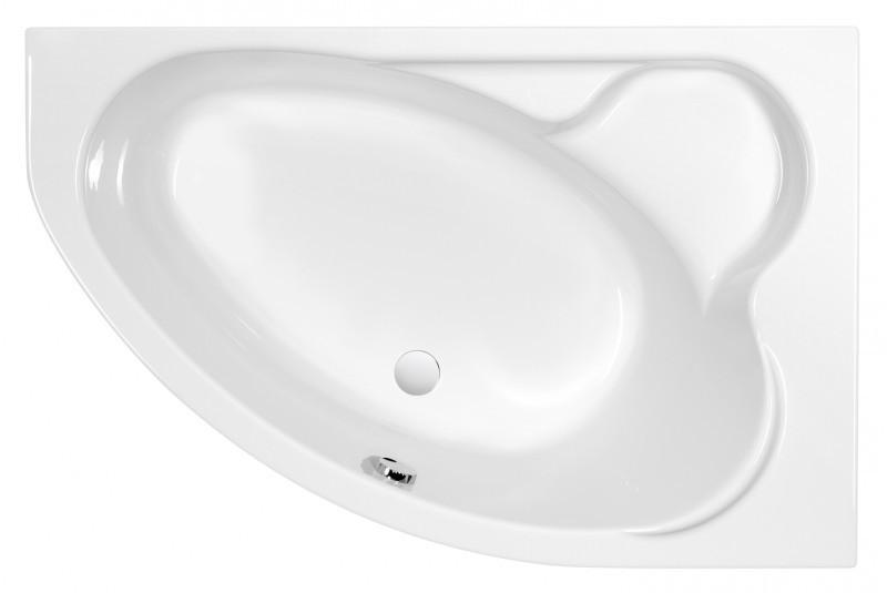 Акриловая ванна 153х100 см R Cersanit Kaliope WA-KALIOPE*153-P cersanit ванна акриловая cersanit flavia 150 70