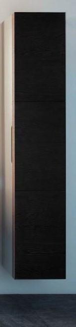 Пенал правосторонний с корзиной белый/эбано KEUCO Edition 300 30311382402