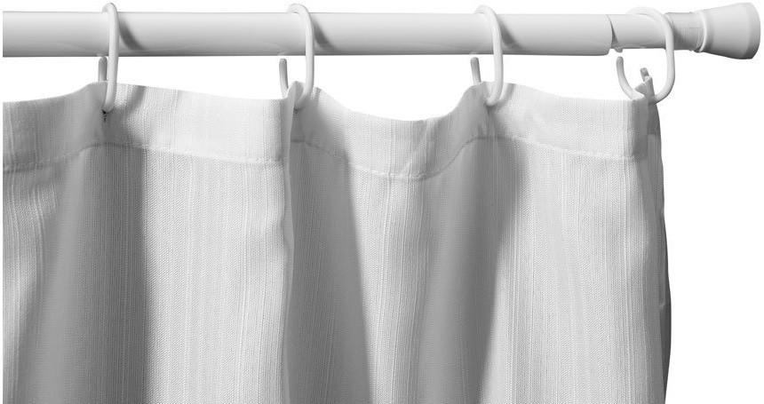 Карниз для ванной комнаты 110-200 см Aquanet SR0022B карниз раздвижной duschy 110 200 см цвет белый