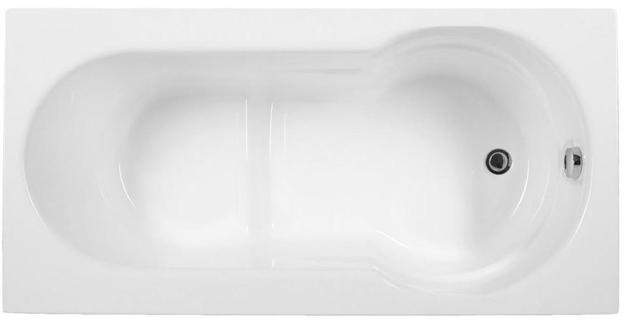 Акриловая ванна 130x70 см Aquanet Largo 00205508 акриловая ванна aquanet delight 208600 170x78