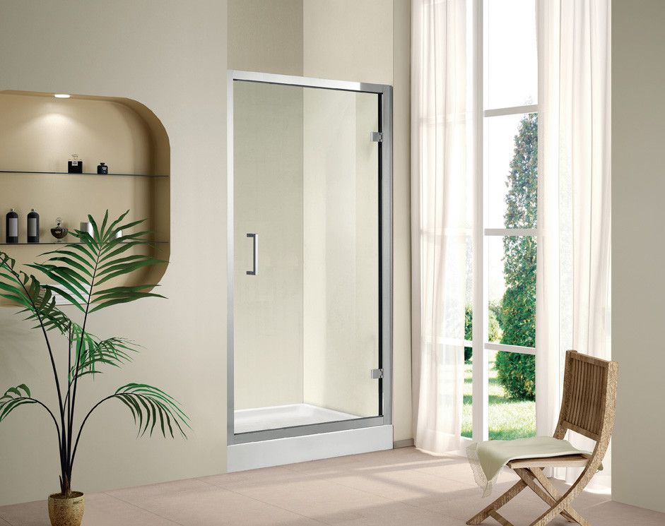 Душевая дверь распашная Cezares Porta 80 см прозрачное стекло PORTA-D-B-11-80-C-Cr душевая шторка на ванну cezares eco eco o v 11 120 140 p cr r