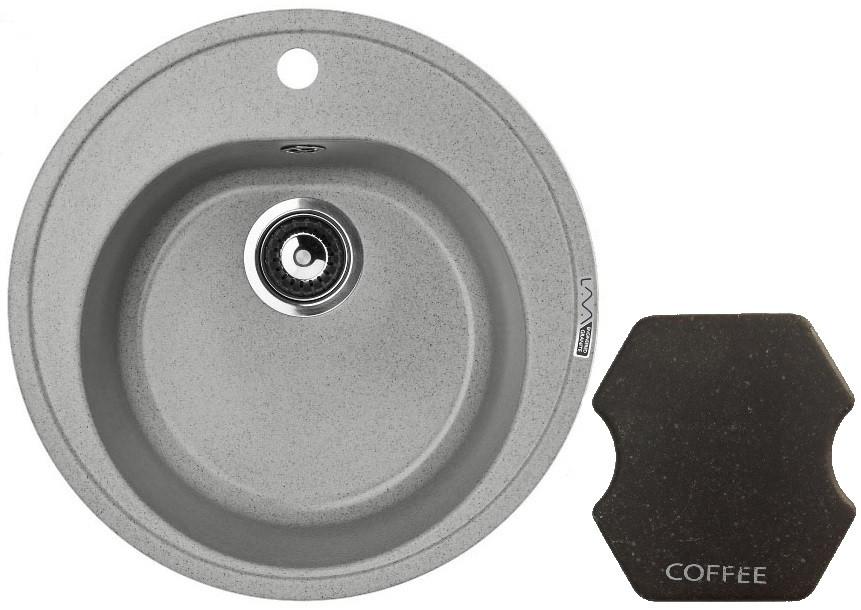 Кухонная мойка COFFEE Lava R2.CFF