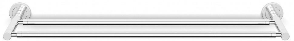 Фото - Полотенцедержатель 65 см двойной Langberger Burano 11002A полотенцедержатель langberger burano 11009a хром