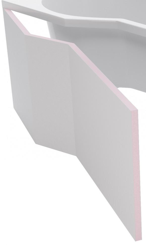 Панель фронтальная 160 см L Excellent Be Spot OBEX.BSL16.WH фото