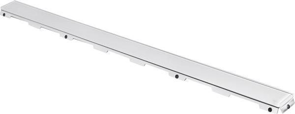Стеклянная панель 943 мм Tece TECEdrainline белый 601091