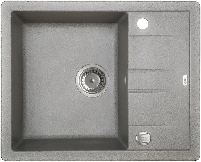 Кухонная мойка серый IDDIS Vane G V07G621I87
