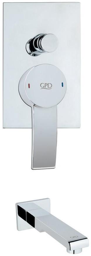 Смеситель для ванны GPD Aduro MAB95 фото