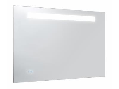 Jacob Delafon Formilia EB1041-NF Зеркало с подсветкой, часами, Анти-Пар, 80*65 см