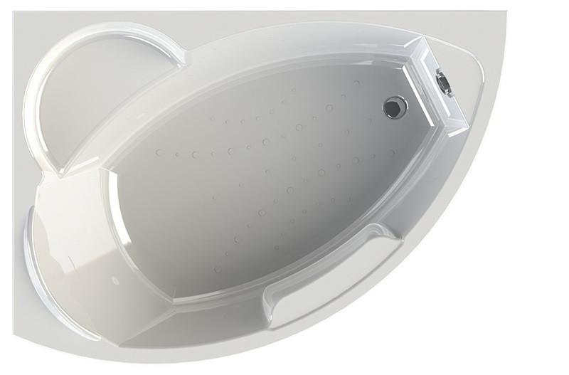 Акриловая ванна левая 168х120 см Vannesa Алари 2-01-0-1-1-218
