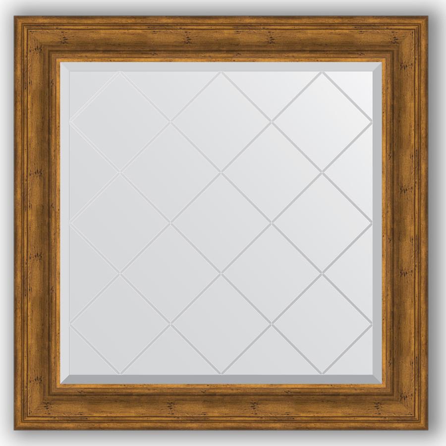 Зеркало 89х89 см травленая бронза Evoform Exclusive-G BY 4333