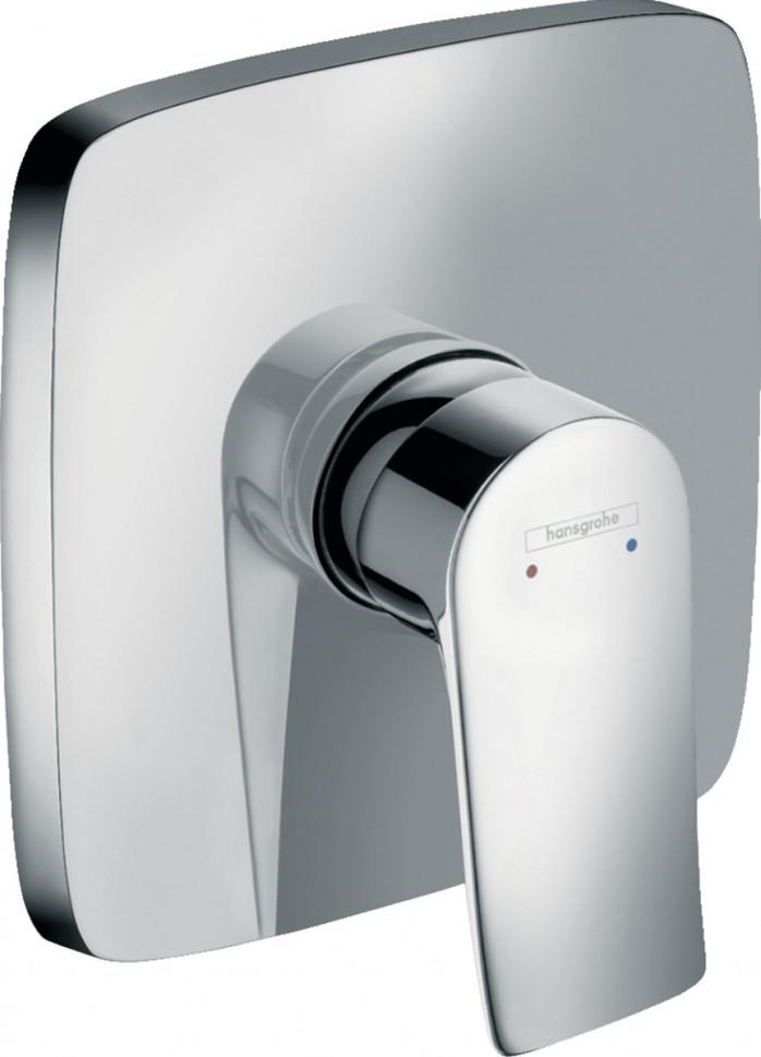 Смеситель для душа Hansgrohe Metris 31456000 смеситель для душа hansgrohe metris 31686000
